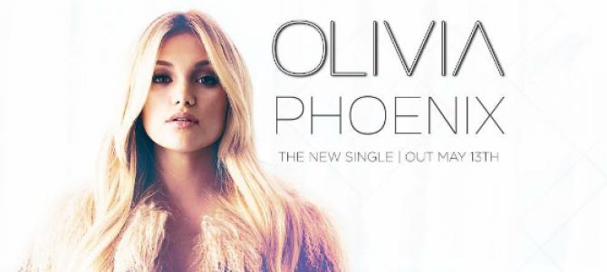 """Olivia Holt anuncia data de lançamento e capa do seu novo single: """"Phoenix"""""""