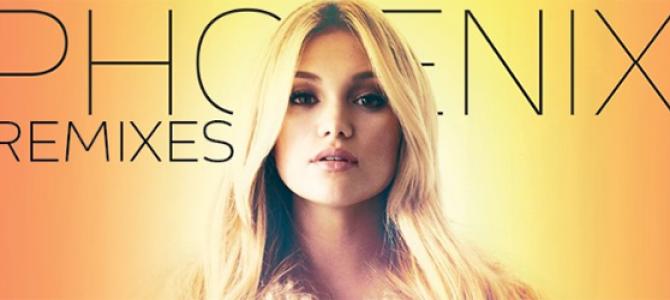 "Olivia Holt libera remixes de ""Phoenix"" nas plataformas digitais"