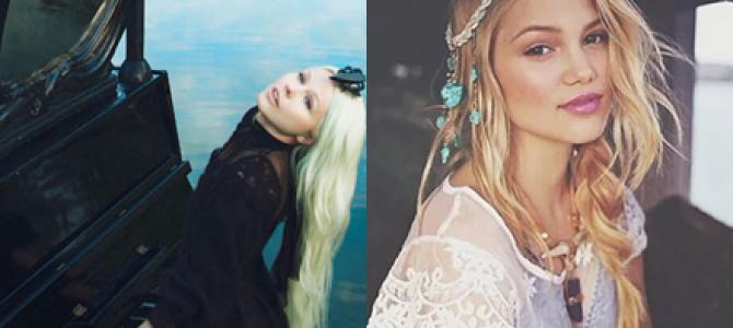 """Olivia Holt escreve música em parceria com a cantora estoniana Kerli: """"Complicated"""""""