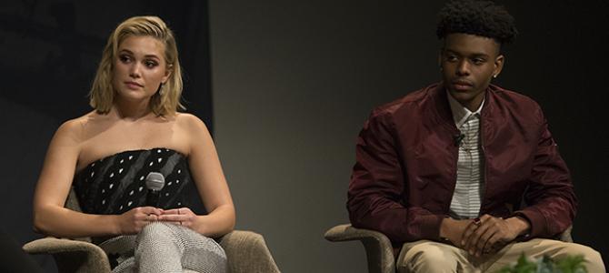 """Olivia Holt comenta sobre importância por trás de """"Cloak & Dagger"""" para a geração atual"""