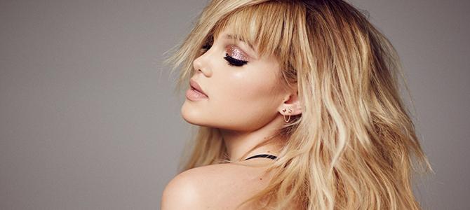 Olivia Holt registra três novas músicas como co-compositora