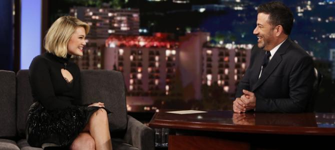 "Assista à entrevista legendada da Olivia Holt no ""Jimmy Kimmel Live!"""